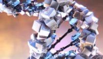 Stylized double helix